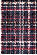 VAICR Home Garden Red Plaid Classic Quilt