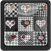 Valentine's Day Heart Plaid Patchwork Drawer