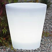 Vaso luminoso LED per piante Assisi Ø 37 cm