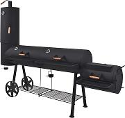 vidaXL Barbecue a Carbonella con Ripiano Inferiore