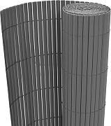 100 METRI RECINZIONE asticelle GIARDINO RECINZIONE BALCONE tavole recinzione in plastica PVC Grafite pzl-31