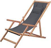 FENGLIAN Comodo Divano Patio sedie a Sdraio Sedie a Sdraio gravit/à Zero Chaise Esterna del Giardino a Dondolo Sedia a Sdraio for la Spiaggia di Campeggio Supporta 200kg Color : Black