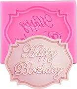 VIOYO Happy Birthday Letter Stampo in Silicone