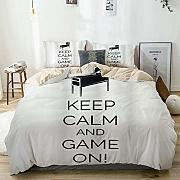 Copripiumino Keep Calm.59 Nbgh78gnykm