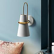 Wall Light moderna Vintage Specchio frontale con 8