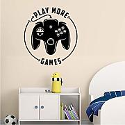 Wall Sticker Vinyl Decal Console di gioco Gioca