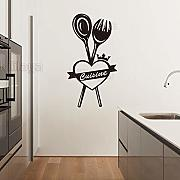 Wall Stickers Adesivi French Ma Cuisine Vinile