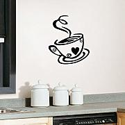 Wall Stickers Tazza Di Caffè Vinile Wall Sticker