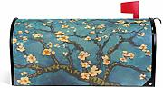 Wamika Van Gogh Almond Blossoms Magnetic Mailbox