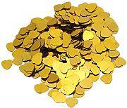 Wedding party confetti-nacola 2000PCS 10 mm Gold