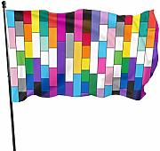 WEIPING Pride for all Flags 3x5 Piedi Bandiera