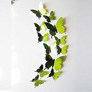 WHFDRHQT Decorazioni Wall Stickers Decal Farfalle