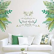 Wmbz Foresta Giardino Pianta Verde Wall Sticker
