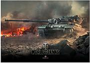 World of Tanks Poster Adesivi murali di giochi