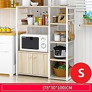 Casa e cucina Rack di stoccaggio a muro a microonde,1 CRL ...