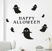 Xbwy Happy Halloween Wall Sticker Finestra