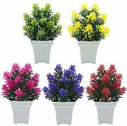 XdiseD9Xsmao Unvading Vivid Color Fake Tree Fiore