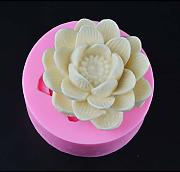 XIATIAN Stampo per Candele Lotus Flower 3D Stampo