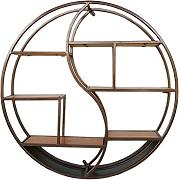 XING ZI Shelf C-K-P Retro Tondo da Parete in