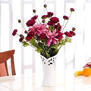 XPHOPOQ Fiori artificiali Bouquet Rose moderno stile minimalista Giardino home decoration viola