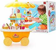 XuBa Kids Ice-Cream Trolley Set con Musica