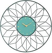 XXQ Flower Orologio da Parete Simple Creative
