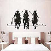 Xxscz Horse Rider With Sunset Wall Art Poster Tre