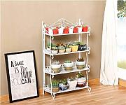 Bicaquu Supporto per piante multistrato Supporto per piante in vaso Scaffale per fiori da interno per la casa