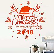 Xzfddn 2018 Happy New Year Buon Natale Decorazioni