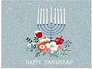 Y·JIANG Happy Hanukkah - Kit per pittura a