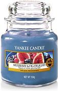 YANKEE CANDLE Giara Mulberry & Fig Piccola Candela