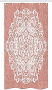 Yeuss Mandala Stall Shower Curtain, Pizzo Stile