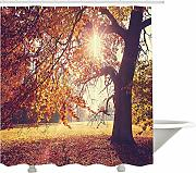 Yeuss Scenery Decor Shower Curtain by, Albero di