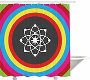 Yeuss Science Shower Curtain, Modello atomico con