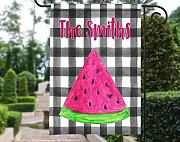 Yilooom Personalized Garden Flag | Plaid