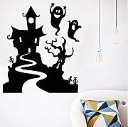 Yirenfeng Happy Halloween Home Household Wall