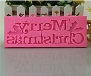 Youliy - Stampo in silicone a forma di lettera,