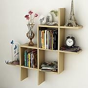 YY-ZP HQQ Creative Living Room Wall Shelf Scaffale