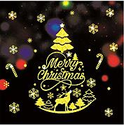 YYZCM Merry Christmas Household Room Wall Sticker