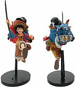 Zaino Rufy-One Piece Scultura Statua in PVC
