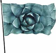 Zikely Banner Decorativo Succulent Plant
