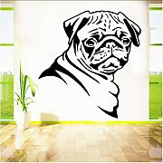 Zlxzlx Dog Pattern Kids Wall Stickers Home