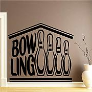 Zlxzlx Modern Bow Ling Vinile Wall Sticker Home