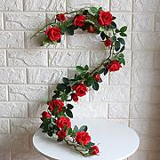 ZTTLOL 120Cm Hanging Flowers Garland Wedding Arch