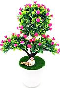 ZTTLOL 1pcartificial decrative Bonsai Fiori