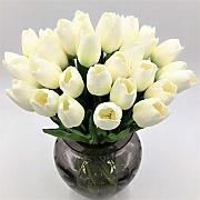 ZTTLOL 20pcs/lot Tulip Artificial Flower PU