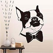 Zxfcccky Bianco E Nero Murale Cute Animal Head