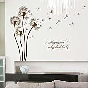 Zxfcccky Tarassaco Adesivi Wall Sticker Wall Art
